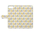 すいすいのレモンはむちゃん Book-style smartphone caseを開いた場合(外側)