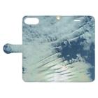 nubi_sの雲 Book-style smartphone caseを開いた場合(外側)