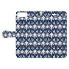 かみらの【揮発する酒場】過度なKado Book-style smartphone caseを開いた場合(外側)