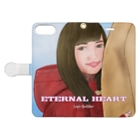 Logic RockStar  illustration Official StoreのETERNAL HEART Book-style smartphone caseを開いた場合(外側)