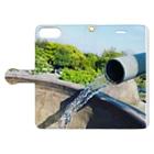 yuta05261212_cityriver990526のnature of nature Book-style smartphone caseを開いた場合(外側)