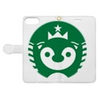 宮本商店のFreddiebucks Coffee II Book-style smartphone caseを開いた場合(外側)