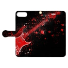 suzuyaのguitar.Red Book-style smartphone caseを開いた場合(外側)
