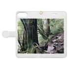 BjjBa4の屋久島の森 Book-style smartphone caseを開いた場合(外側)