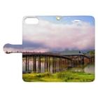 𝕚𝕣𝕠𝕤𝕒𝕤𝕙𝕚のとある橋 2 Book-style smartphone caseを開いた場合(外側)