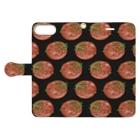 リズの牛タン Book-style smartphone caseを開いた場合(外側)