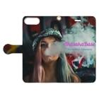AkasakaBase - アカサカベースのSmoke Girls 01 Book-style smartphone caseを開いた場合(外側)