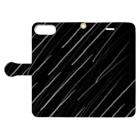 Rock Style Hero Originの五月雨 Book-style smartphone caseを開いた場合(外側)