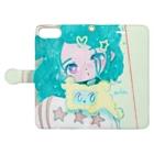 EMiiiiiのぎゅっと抱っこ Book-style smartphone caseを開いた場合(外側)