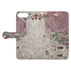 art-standard(アートスタンダード)のグスタフ・クリムト(Gustav Klimt) / 『メーダ・プリマヴェージ』(1912年) Book-Style Smartphone Caseを開いた場合(外側)