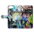 Chika Shinoda*ART GOODSのAbility-能力- Book-style smartphone caseを開いた場合(外側)