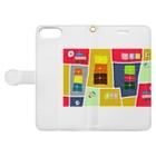 まーマジョのマジョの箱 Book-style smartphone caseを開いた場合(外側)