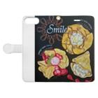 team-Aのsmile baby Book style smartphone caseを開いた場合(外側)
