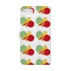 さぶのさぶクロスステッチフルーツのけいたいケース Book-style smartphone caseの裏面