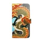 MSHT SHOPの双龍図 Book-style smartphone case