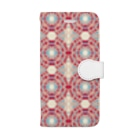 幾何学模様ARTの幾何学模様No.682 Book-Style Smartphone Case