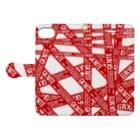 GK! WEB SHOPのGK NITE Book-style smartphone caseを開いた場合(外側)