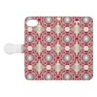 幾何学模様ARTの幾何学模様No.682 Book-Style Smartphone Caseを開いた場合(外側)