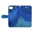 BENの「開眼」 Japanese marble Book-style smartphone caseを開いた場合(外側)