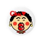オリジナルデザインTシャツ SMOKIN'の関西のおばたん Chu Badges