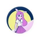 sara33suzuriのうさぎ娘 Badges