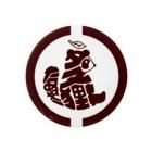 もよういぬ(グッズ販売)の2 たぬき(枠あり) Badge