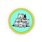 peacefulの重ね犬 Badges