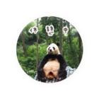 HKG パンダのパンダの休憩バッジ Badge