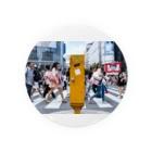 白桃伯爵の渋谷の交差点 Badges