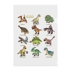 すとろべりーガムFactoryの恐竜図鑑 Clear File Folder