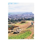FUCHSGOLDのモロッコ:フェズの遠景写真 Morocco: view of Fez Clear File Folder