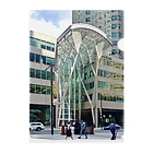 Urban Forest by Singh アーバン・フォレストのBCE PLACE in Toronto Clear File Folder