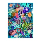 mikoのSEA CREATURES Clear File Folder