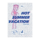 SUISOUのHOT SUMMERなクリアファイル Clear File Folder