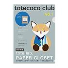 totecoco(トートココ)のtotecoco club No.1 Clear File Folder
