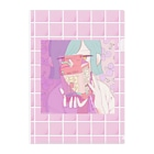 marché TSUKIMOCHIのイチゴミルクなクリアファイル Clear File Folder
