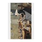 世界の絵画アートグッズのアルベール・アンカー 《保育所 1 》 Clear File Folder