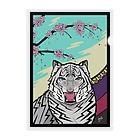 𝙽𝚘 𝚁𝚘𝚜𝚎 𝚆𝚒𝚝𝚑𝚘𝚞𝚝 𝙰 𝚃𝚑𝚘𝚛𝚗.の桜に幕 Clear File Folder