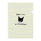 ArtworksのMy Kitten01 Clear File Folder