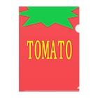 はちよんごのTOMATO Clear File Folder