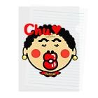 オリジナルデザインTシャツ SMOKIN'の関西のおばたん Chu Clear File Folder