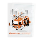 Sunny Place 今瀬のりおの消防車カー Clear File Folder