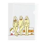 庭にくるコトリからの座談会 Clear File Folder