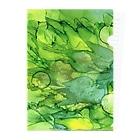 始季彩@suzuriの新緑 Clear File Folder