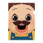 AKIRAMBOWのおひげでしょーちゃん Clear File Folder