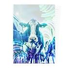 牛のTシャツ屋の牛170527b Clear File Folder