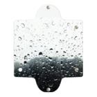 モリチエコの雨 Clear Multipurpose Case
