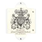 J. Jeffery Print Galleryのイギリス貴族の紋章 Clear Multipurpose Case