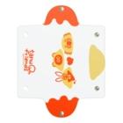 たぬきゅんショップのたぬフレオムライス別皿 Clear Multipurpose Case