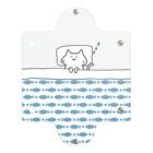 のびネコとおさかなのお店のおふとんねこ Clear Multipurpose Case